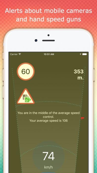Speedcams premium road detect app image