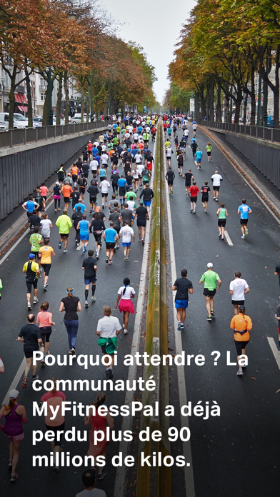 Screenshot for MyFitnessPal in France App Store