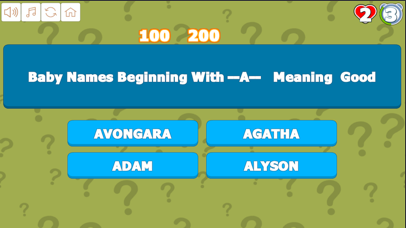 Quiz AtoD Baby Names screenshot 4