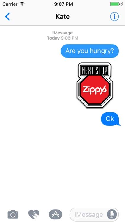Zippy's Restaurants Stickers