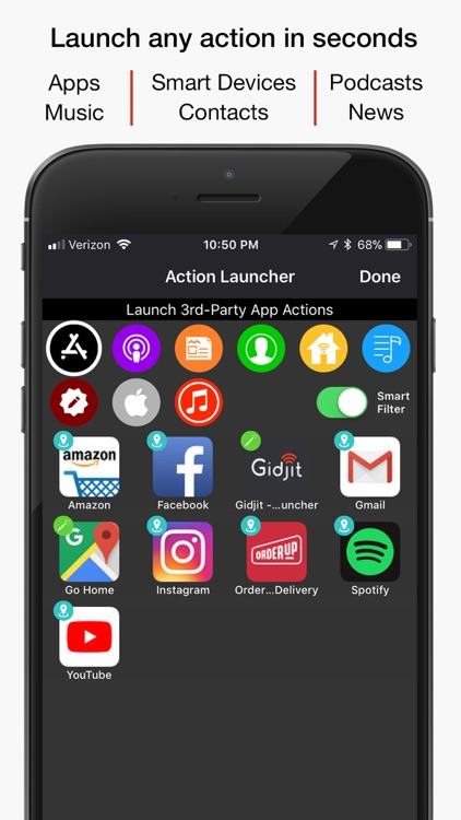 Gidjit - Smart Launcher