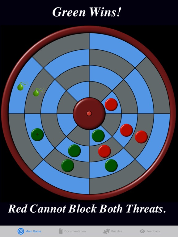 Screenshot #2 for Circular Connect Four