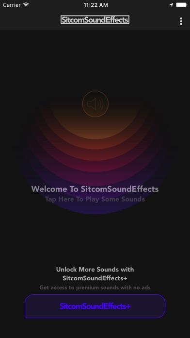 Sitcom Sound Effects screenshot 1