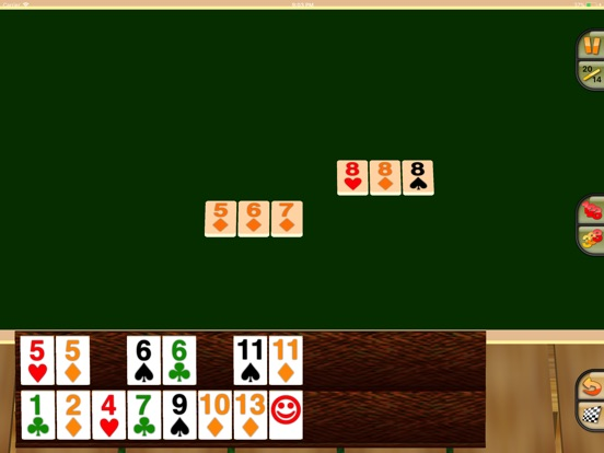 Touch Rummy HD Screenshot