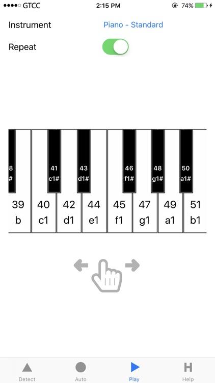 Accurate Piano Tuner