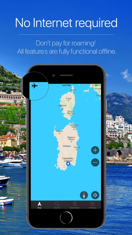 Sardinia, Italy Navigation screenshot-0