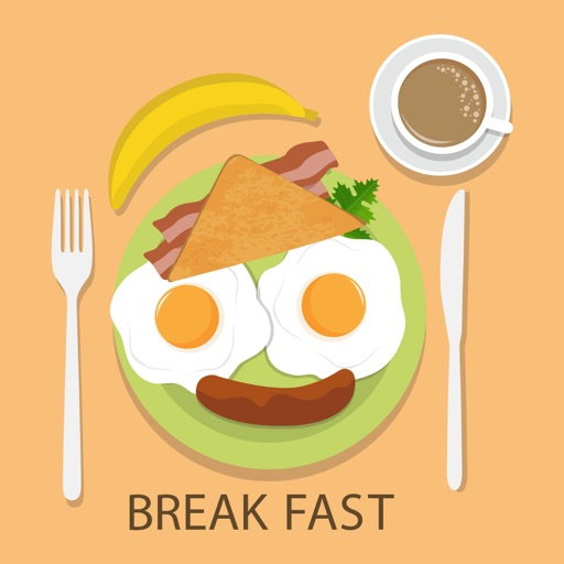 Food and Breakfast Stickers