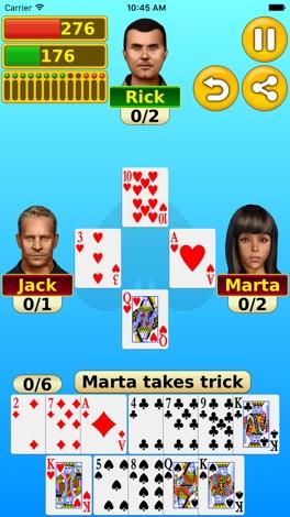 Spades - Play online & offline screenshot for iPhone