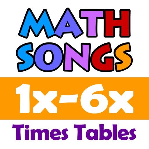 Math Songs: Times Tables 1x - 6x