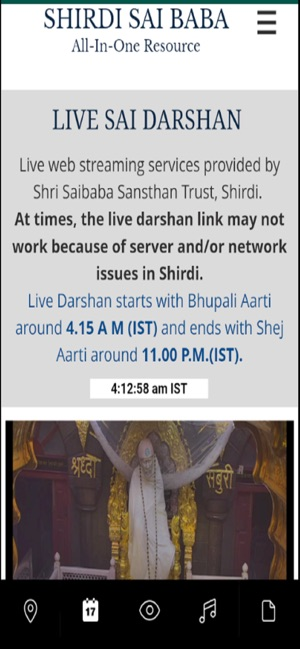 Shirdi Sai Baba All-In-One App on the App Store