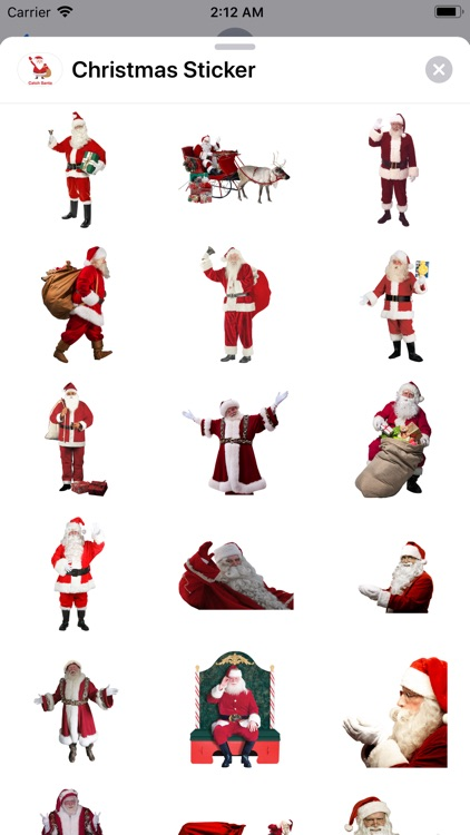 Christmas Sticker.s