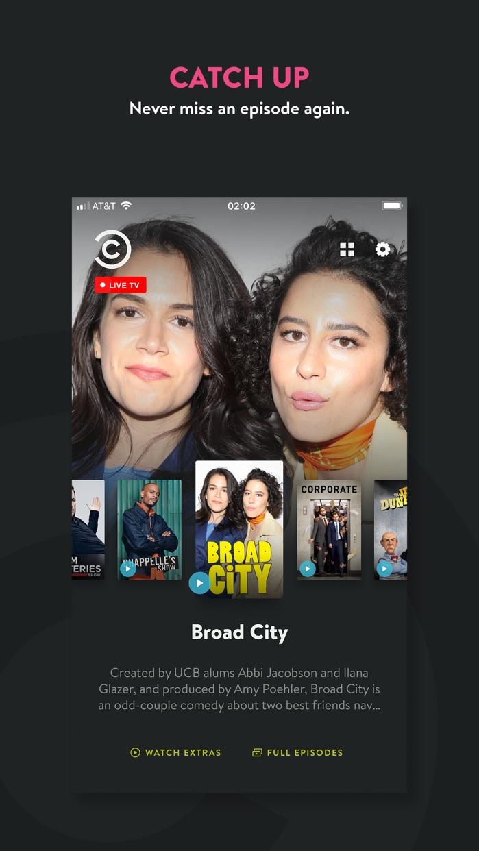 Comedy Central Screenshot
