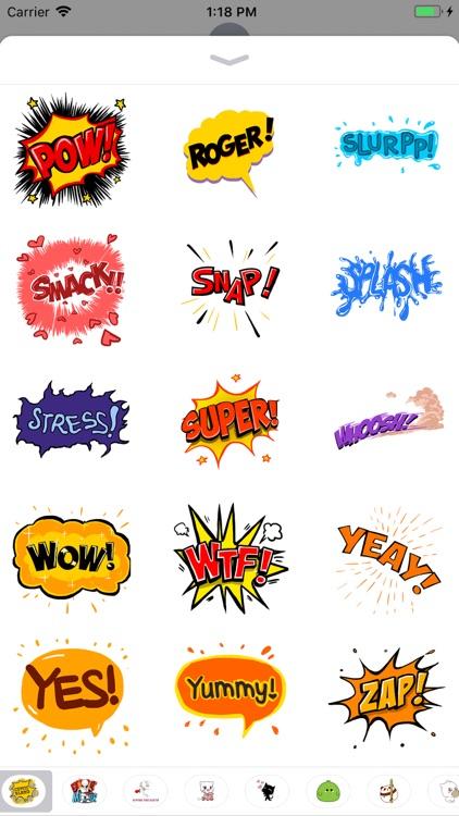 Comic Slangs