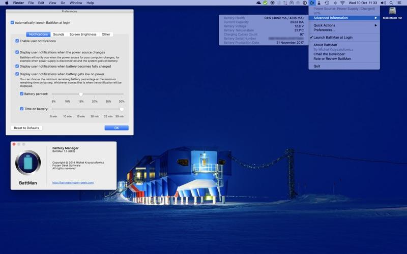 BattMan скриншот программы 2