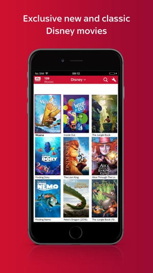film sky on demand su ipad