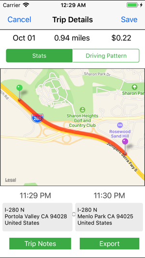 Extra Mile Mileage Tracker On The App Store - Google maps mileage tracker
