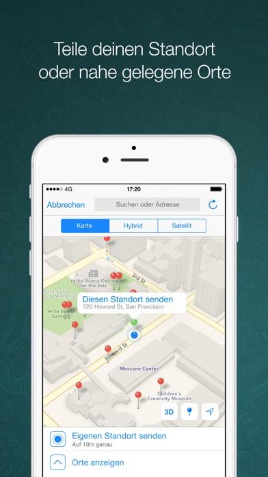 Screenshot for WhatsApp Messenger in Germany App Store