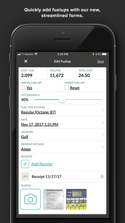 Fuelly: MPG & Service Tracker screenshot-4