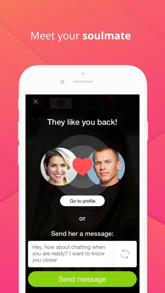 Uniform - Dating App Screenshot