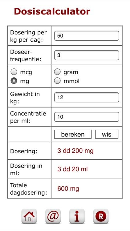 Dosiscalculator