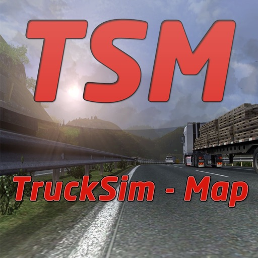 Trucksim-Map icon