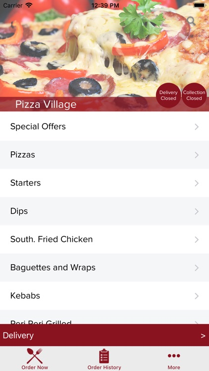 Pizza Village Water Orton By Touch2success