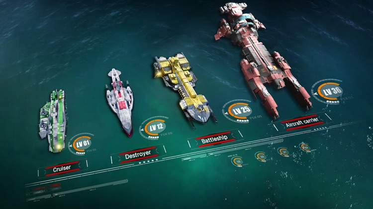 Battle Warship: Naval Empire screenshot-3