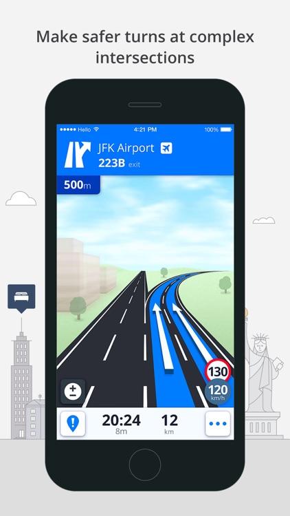 Sygic Iraq: GPS Navigation screenshot-4