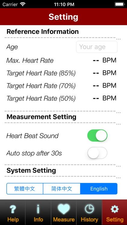 Facial Heart Rate (Free) screenshot-4