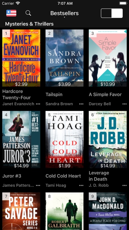 Bestsellers for Book Store
