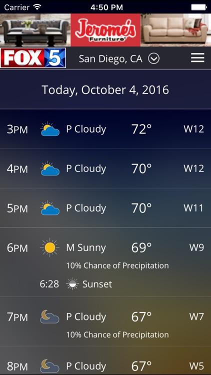 FOX5 San Diego Weather screenshot-3
