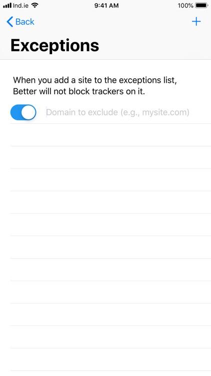 Better Blocker
