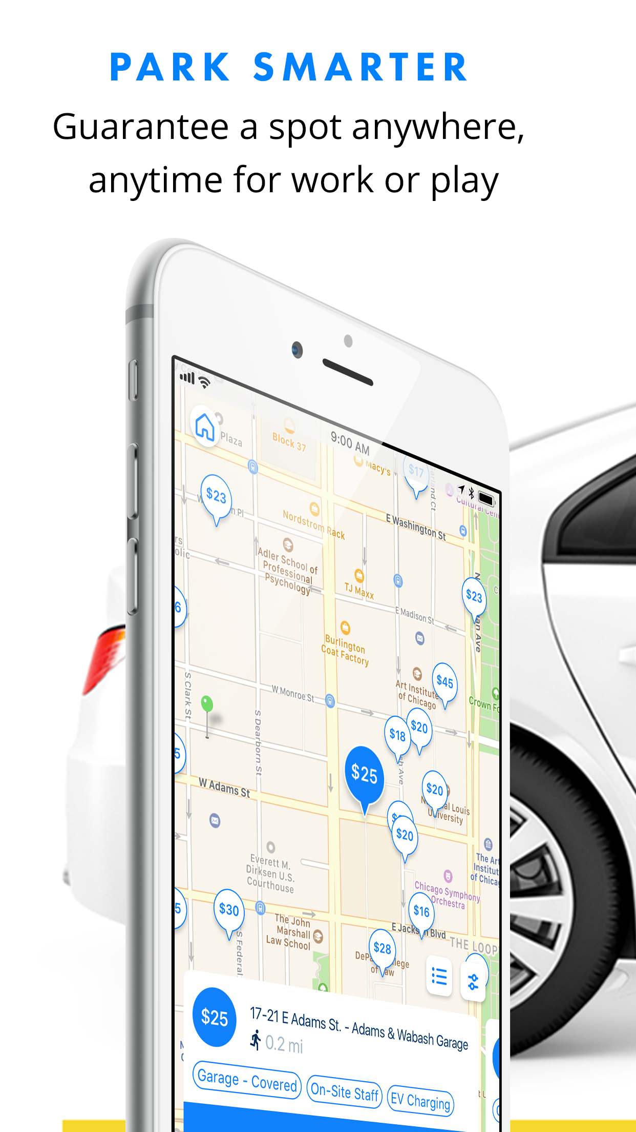 SpotHero - Find Parking Nearby Screenshot