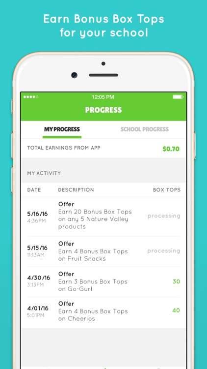 Box Tops® Bonus App – School Fundraising screenshot-3