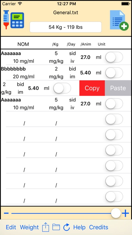 Dose List screenshot-3