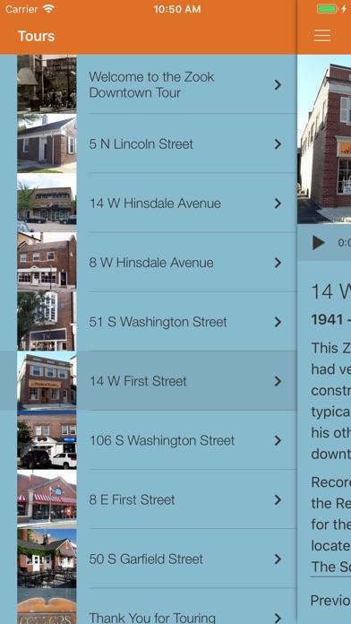 Screenshot of BYU Walks Abroad App