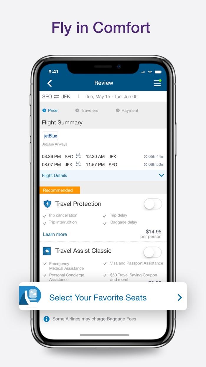 CheapOair Cheap Flights Screenshot