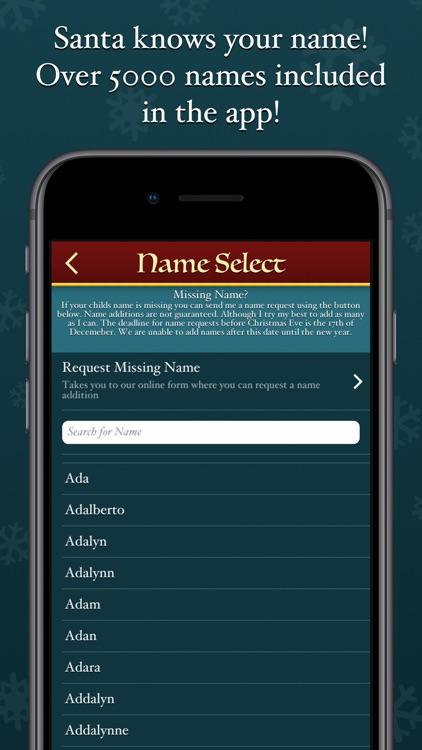Speak to Santa™ - Video Call screenshot-4