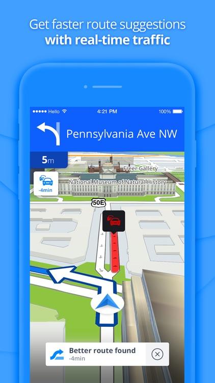 GPS Navigation & Maps screenshot-3