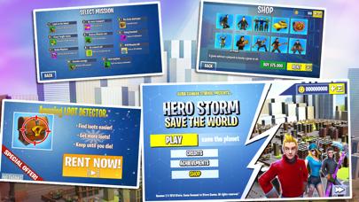 Hero Storm - Save the World screenshot three