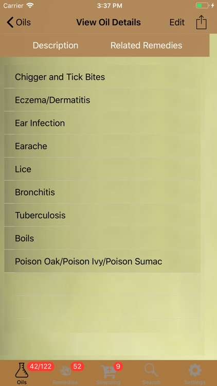 My Essential Oil Remedies