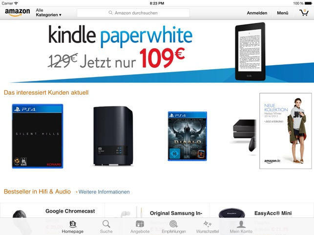 Amazon Screenshot