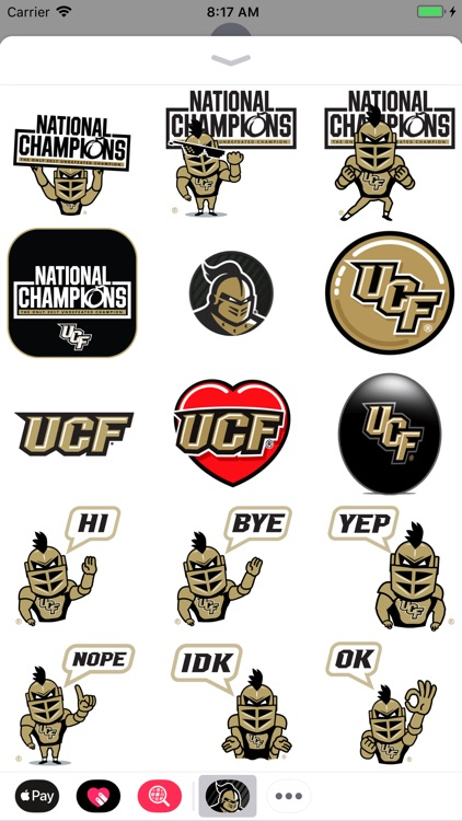 UCF® Stickers screenshot-7