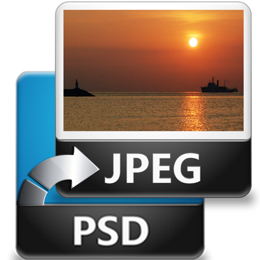 PSD To JPEG - Convert multiple Images & Photos