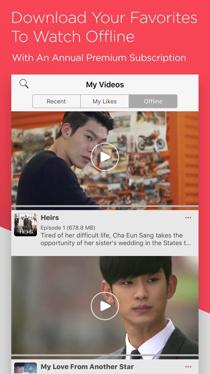 DramaFever - Dramas & Movies Screenshot