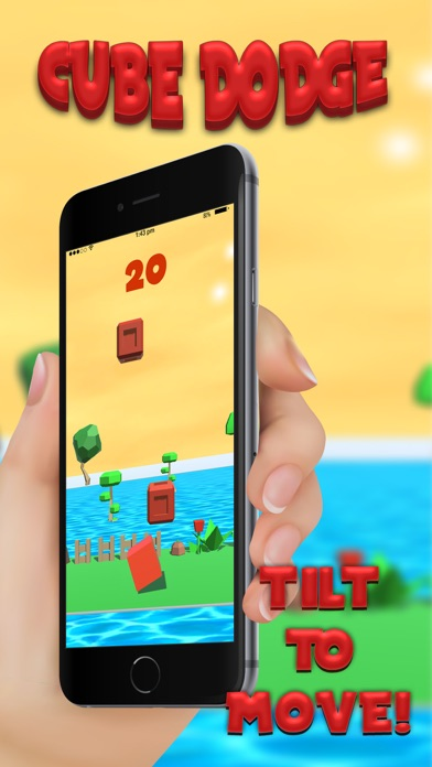 cube dodge: Bonus Cube screenshot three