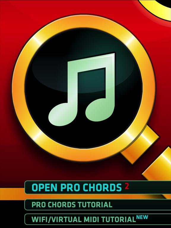Pro Chords - Instant Inspiration - w. WiFi MIDI iPad