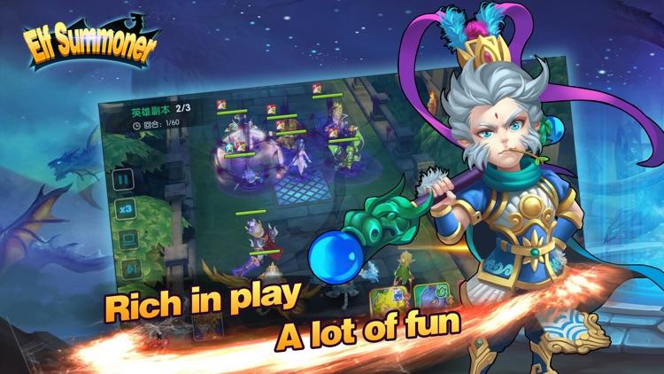 Elf summoner: battle of glory screenshot-3