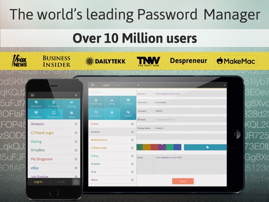 Password Manager: Passible-ipad-0