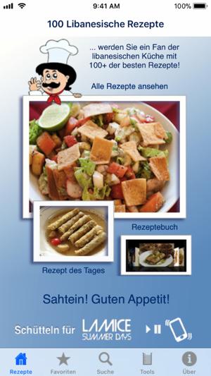 100 Libanesische Rezepte on the App Store